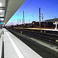 夜明けのニュルンベルク駅