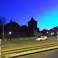 早朝のケーニヒ門
