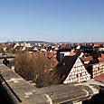 バンベルク市街の眺め